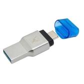 金士頓 讀卡機 【FCR-ML3C】 Micro SD 系列記憶卡 對應 USB3.1 與 TYPE-C 新風尚潮流