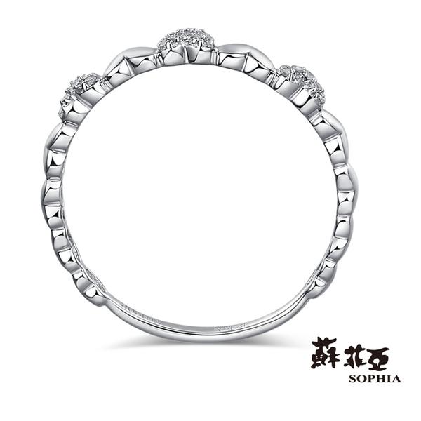 蘇菲亞SOPHIA - 立體愛心線戒