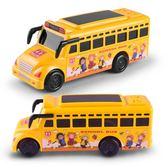 兒童慣性車燈光音樂校車警車回力玩具汽車巴士玩具小汽車WY【雙11購物節 7折起】