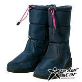 【PolarStar】女保暖雪鞋『深藍』P17632 (冰爪 / 內厚鋪毛 /防滑鞋底) 雪地靴.雪鞋.賞雪.滑雪.雪地必備