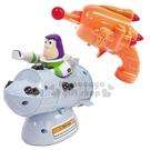 〔小禮堂〕迪士尼 玩具總動員4 巴斯光年 公仔雷射槍聲光玩具組《橘灰.站姿》兒童玩具 4904810-14828
