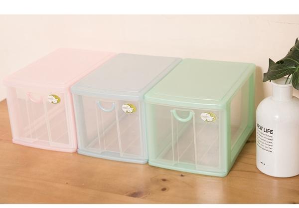 【1層小物收納架】5L 單層櫃 連環細縫櫃 收納箱 置物櫃 抽屜整理箱   整理箱AD5211 [百貨通]