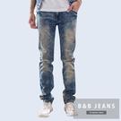 高磅數美式復古做風牛仔褲...
