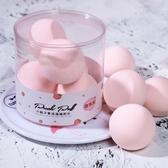 美妝蛋5個裝桃子形美妝蛋不吃粉粉撲海綿化妝蛋美妝蛋軟超軟李佳琦推薦