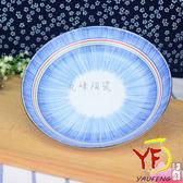 ~ 美濃燒~彩虹十草8 5 吋圓盤深盤餐盤線條紋