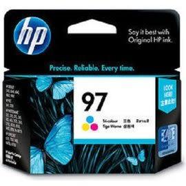 C9363WA HP 97 高容量彩色墨水匣 (高容量省更多) 適用 HP DJ-5740/6540/6840/9800/9808/9860,PS-B8770/PSC1610
