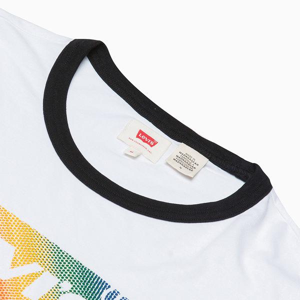 [買1送1]Levis 男女同款 短袖T恤 / Pride限量平權系列 / 彩虹Logo