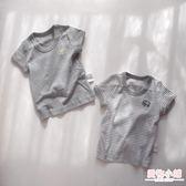 日系童裝夏季新款男童寶寶純棉短袖打底衣半袖男孩T恤 薄 全館8折