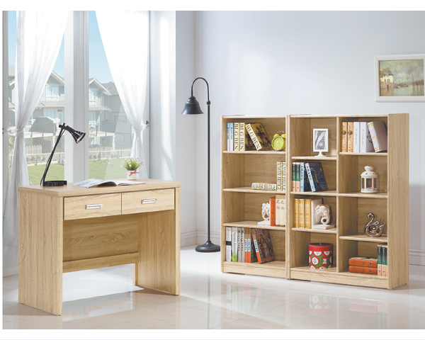 【YUDA】北歐風 原切 全木心板 波麗漆 3尺 書桌/寫字桌/書檯 I0X 334-30