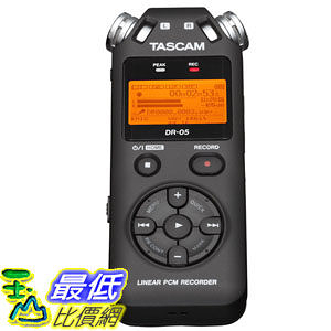 [103 美國直購] TASCAM DR-05 Portable 數字錄音機 Digital Recorder $4923