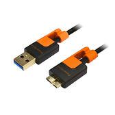 群加 USB3.0 A公對Micro USB3.0 傳輸線 1.5M