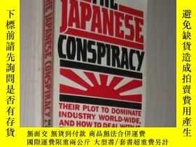 二手書博民逛書店英文原版罕見The Japanese Conspiracy by