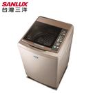 SANLUX台灣三洋 17kg定頻超音波單槽洗衣機 SW-17NS6 原廠配送及基本安裝