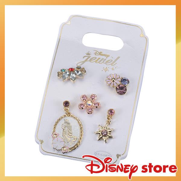 日本迪士尼長髮公主耳飾耳環耳針款702002通販屋