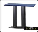 {{ 海中天休閒傢俱廣場 }} C-99 摩登時尚 餐桌系列 444-91 2X4尺美耐板餐桌/烤黑/烤銀腳(顏色可挑選)
