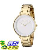 [美國直購] Skagen Women s 女士手錶 SKW2330 Ditte Gold Link Watch