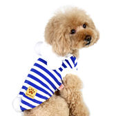 【PET PARADISE 寵物精品】Narikiri 藍條紋熊熊變身裝 (4S/3S/DSS) 狗衣服 寵物用品 寵物衣服