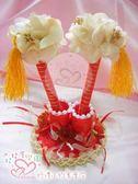 娃娃屋樂園~獨家推出~中國風.流蘇造型.簽名筆座(含1對筆) 每組350元/婚禮小物/會場佈置/喜糖籃