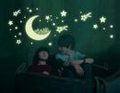 【收藏天地】創意生活*月光星空夜光貼/ 壁貼 家飾 居家 裝飾 佈置 環保
