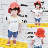寶寶短袖T恤夏裝新款男童休閒打底衫韓版兒童上衣1-234歲小童艾美時尚衣櫥