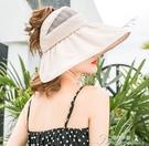 折疊遮陽帽-遮陽帽女夏天韓版百搭防紫外線...