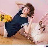 《AB6349》台灣製造.竹節棉撞色寬袖素面T恤上衣 OrangeBear