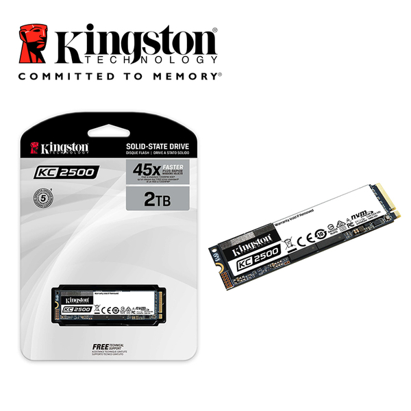 金士頓 Kingston KC2500 2TB NVMe PCIe M.2 2280 5年保固 SSD 固態硬碟