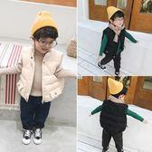 尾牙全館9折 寶寶棉衣馬甲韓版兒童冬裝上衣小童坎肩男童加厚背心嬰兒洋氣外套 百搭潮品