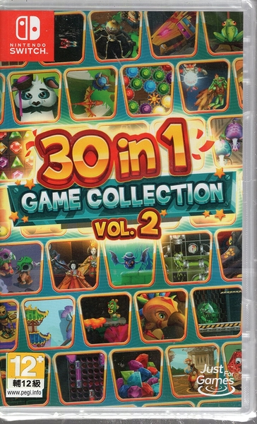 【玩樂小熊】Switch遊戲 NS 30合1 遊戲合集 Vol 2 30-in-1 Game Collect 英文版