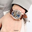 范倫鐵諾˙古柏 雙面鏤空機械錶 正品原廠公司貨【NEV30】