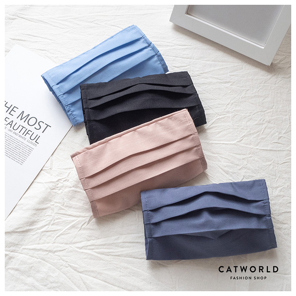 Catworld 防疫必備。可水洗台灣製口罩保護套/兒童款【18003571】‧F