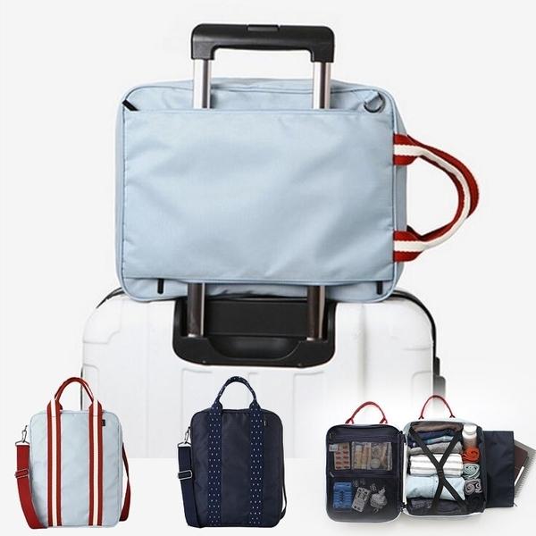 簡易手提行李包 行李拉桿包 防潑水 大容量 旅行收納包 肩背包 拉桿包 收納包【RB521】