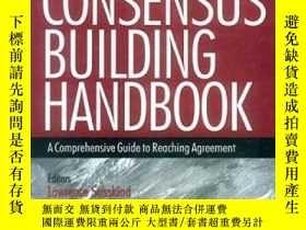 二手書博民逛書店The罕見Consensus Building Handbook-建立共識手冊Y436638 Lawrence