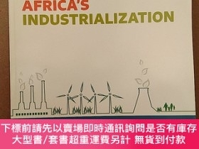 二手書博民逛書店Economic罕見Report On Africa: 2016: Greening Africa s Indus