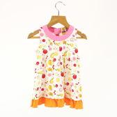 【愛的世界】純棉圓領水果百匯無袖洋裝/6個月-台灣製- ★春夏洋裝