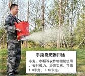 手搖式撒肥料神器農用小麥水稻施肥器撒肥機手動多功能撒化肥機 LannaS YTL