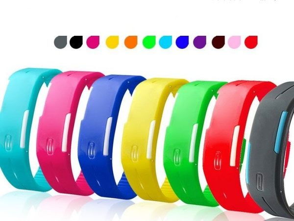 LED發光 果凍錶 手環錶 路跑錶 運動錶 手表 手錶【4G手機】