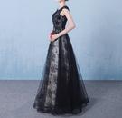 (45 Design) 長洋裝晚禮服禮服晚宴長禮服e黑色長禮服伴娘服中長禮長裙婚禮洋裝5