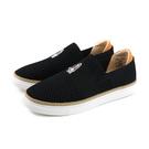 Hush Puppies 懶人鞋 休閒鞋 針織 黑色 女鞋 6191W120601 no146