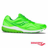 SAUCONY RIDE 9 緩衝避震專業訓練鞋-萊姆綠