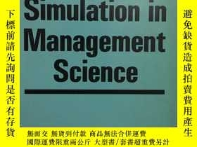 二手書博民逛書店Computer罕見Simulation in Manageme