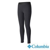 Columbia 女 快排保暖內搭長褲-黑色 【GO WILD】