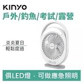 【少量現貨】KINYO UF-890 充插兩用6吋 USB DC循環扇-風罩易拆洗