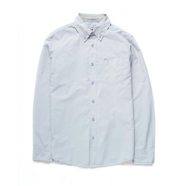 Deus Ex Machina Ralph Sunburnt Ls Shirt 長袖襯衫-男(天空藍)