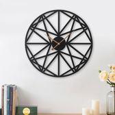 掛鐘 客廳家用時尚北歐個性現代簡約鐘錶藝術大氣裝飾時鐘壁鐘 - 都市時尚