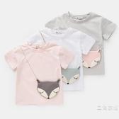短袖童裝女童夏季裝短袖T恤4兒童半袖上衣薄款2019新款夏裝3歲寶寶5小童
