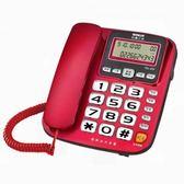 SANYO 三洋 來電顯示有線電話 TEL-832 (紅色款) 20.5x17.2x
