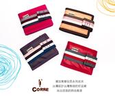 CORRE【PG018】自我風格MIT原色系質感織帶款短夾 *潮流青春玩色系列皮夾
