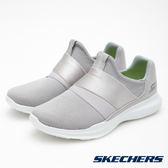 SKECHERS 女鞋 跑步系列 GO RUN MOJO 健走慢跑鞋- 銀灰 14814GRY