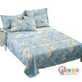 棉質床單三件套單人男女1.2棉布被單單件全棉學生雙人1.8m2.0米床
